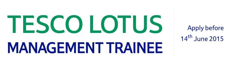 Tesco Lotus Management Trainee