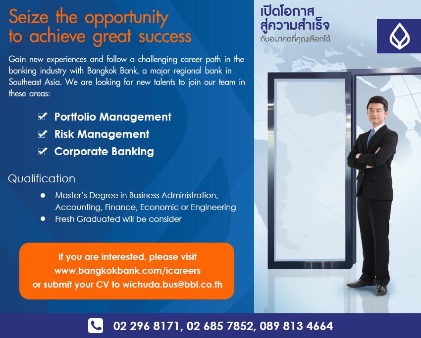 Bangkok Bank jobs