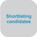 Shortlisting candidates at jobsDB Recruitment Centre