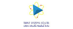 สมัครงานบริษัท Triple Systems