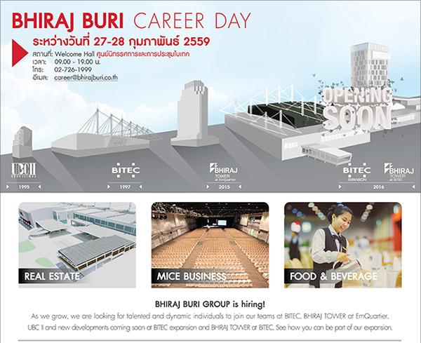 BHIRAJ BURI Career Day