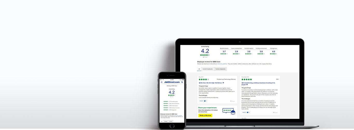 Company review & ratings   jobsDB TH EN Employer