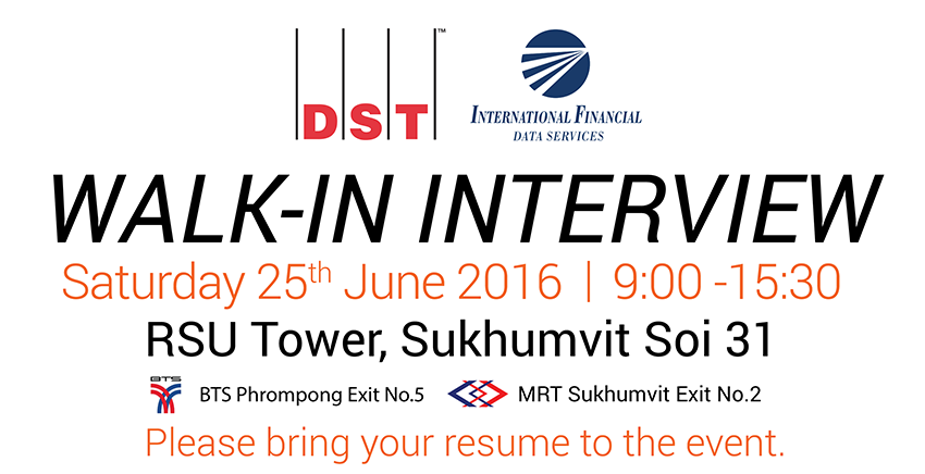 DST Walk-in Interview