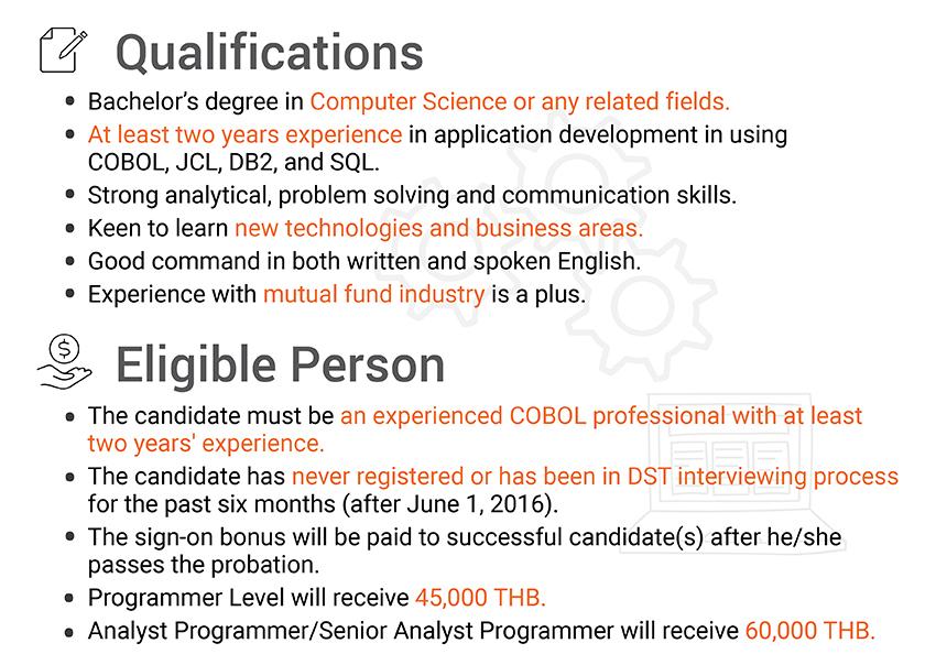 COBOL jobs