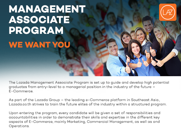 Lazada Management Associate Program