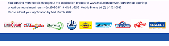 Thai Union jobs