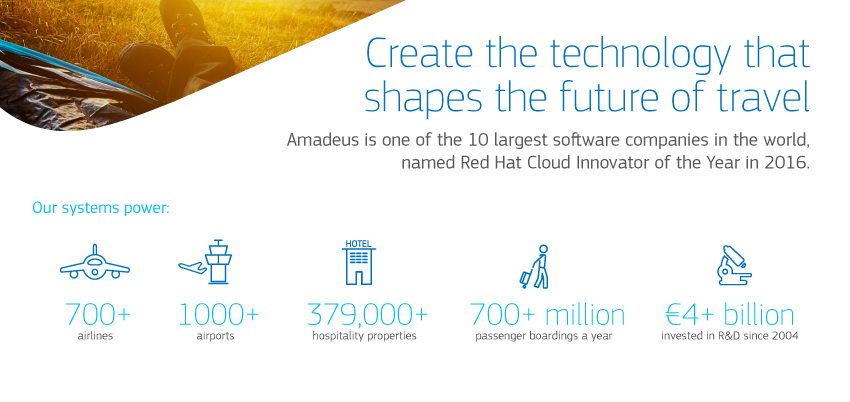 Amadeus travel industry jobs