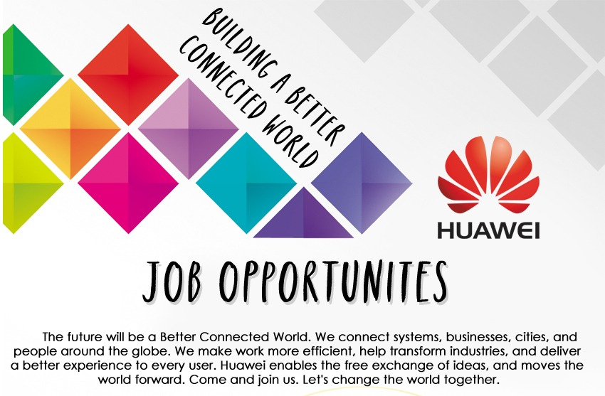apply Huawei jobs