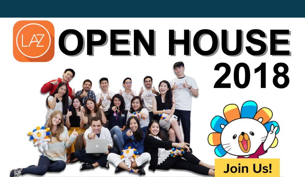 Lazada Open House 2018 | jobsDB Thailand