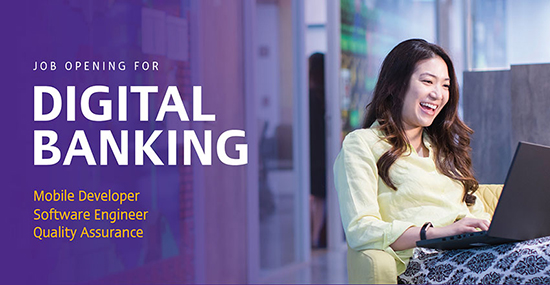 Apply SCB jobs for Digital Banking