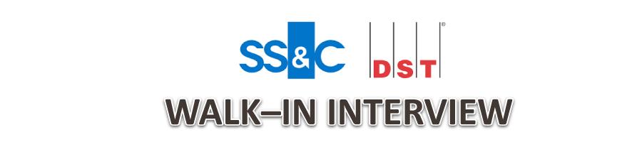 DST Walk-in interview 2019