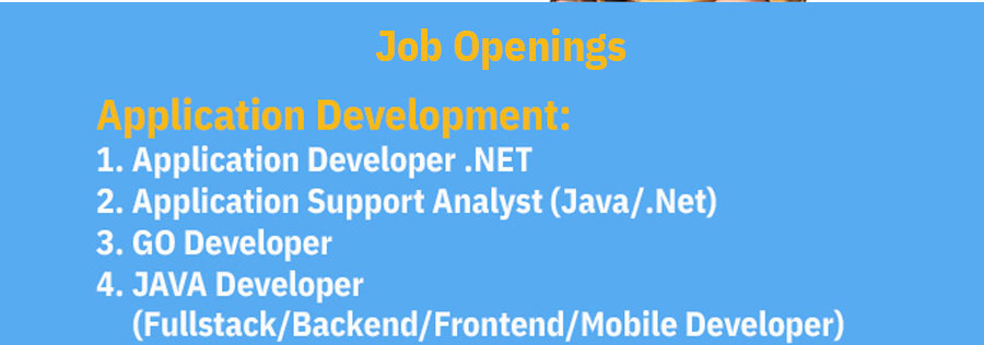 IBMSD Application Development jobs