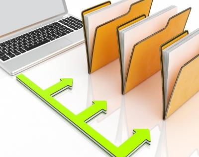 การจัด-folder