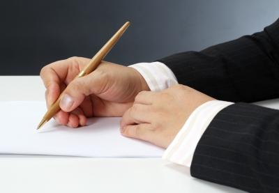 การเขียนจดหมายธุรกิจ