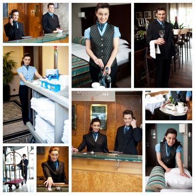 การแต่งตัวคนทำงานโรงแรม