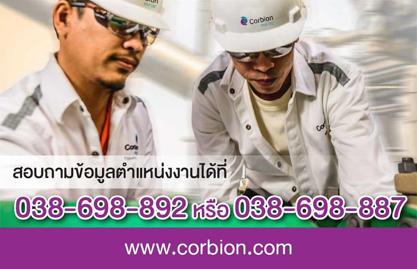 สมัครงาน Corbion Purac