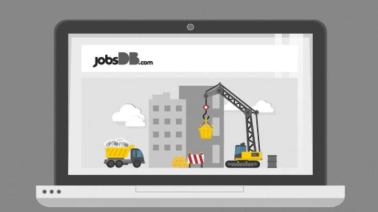 แจ้งปิดปรับปรุงระบบ jobsDB.com