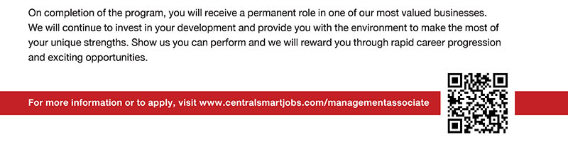 Central Group Management Associate Program