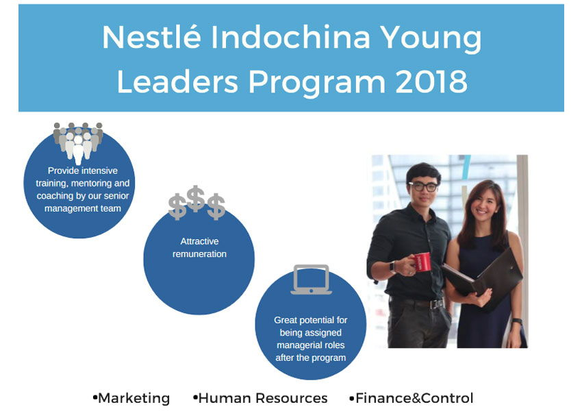 Nestle Young Leaders Program 2018