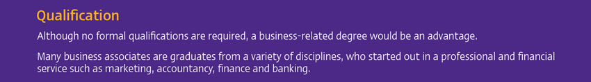 SCB SME Business Associate