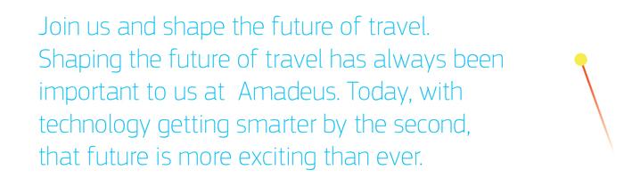 find Amadeus jobs
