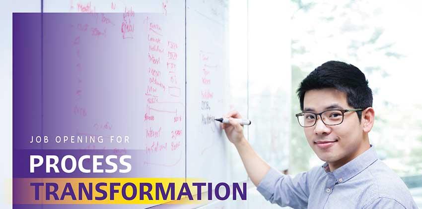 Job Opening SCB Process Transformation