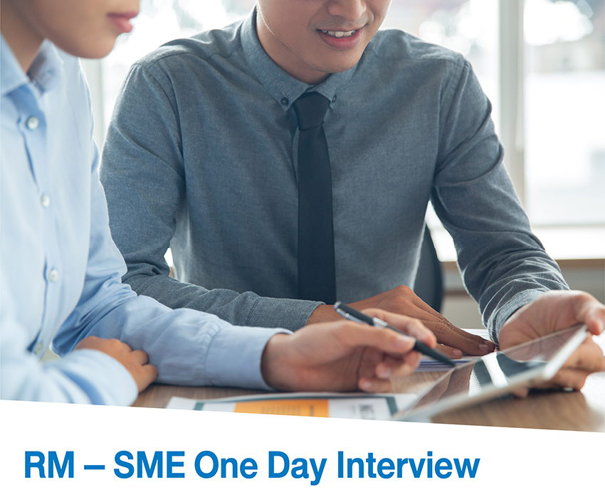 TMB RM - SME One Day Interview