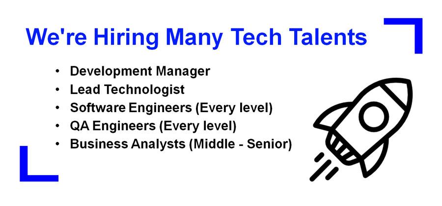 Refinitiv Tech Job