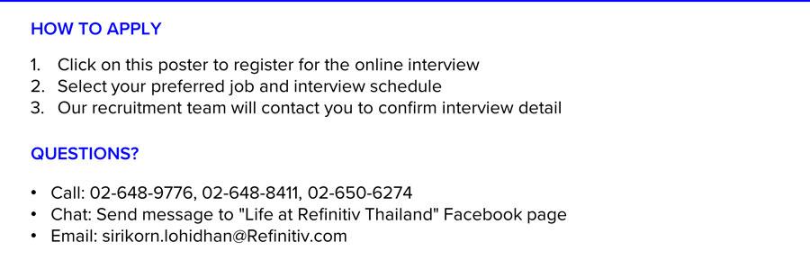 Refinitiv Virtual Interview Week