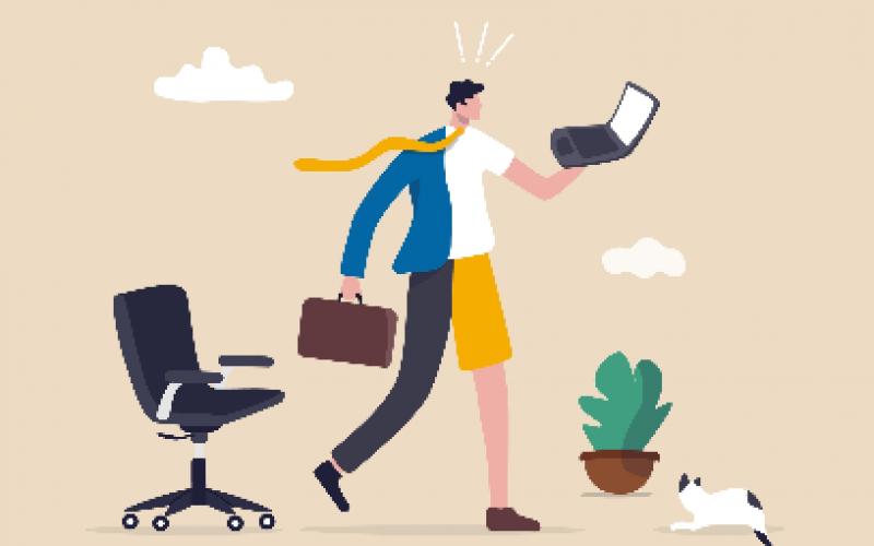 Hybrid work การทำงานรูปแบบใหม่ถูกใจทั้งองค์กรและพนักงาน